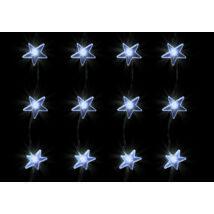 Home LED-es fényfüggöny csillag alakú karácsonyi dekoráció 1,5x1m 230V KAF 48L