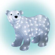 Somogyi LED Jegesmedve karácsonyi dekoráció akril  42x58cm IP44 230V KDA 6