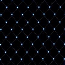 Somogyi LED-es fényháló, 6x4m, 400 db hidegfehér LED IP44, 230V KLN 400C/WH