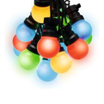 Somogyi LED-es színes kültéri gömb fényfüzér 30 db LPL 30/M