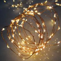 Karácsonyi dekoráció LED-s izzósor, mikroszálas, 7,9m, IP44, 230V ML 80/WW Somogyi