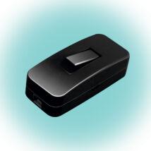 Somogyi Zsinórközi 1 pólusú kapcsoló H03VVH2-F, 2x0,75 mm2 NV 1K/BK