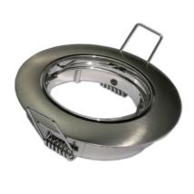 Optonica álmennyezeti beépíthető kör spot lámpatest króm billenthető OT5171