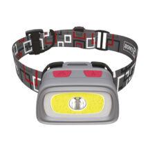 LED fejlámpa-homloklámpa 1 COB + CREE LED, 3xAAA Emos P3531