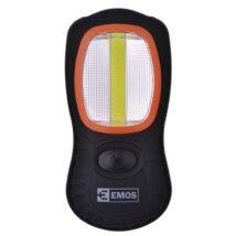 LED kézilámpa 3W+3LED munkalámpa-steklámpa Emos P3883