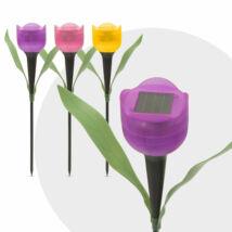 LED-es szolár tulipánlámpa 30 cm 11703