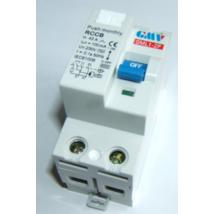 GMV Fi relé 2P 40A/300mA AC érintésvédelmi relé  áram-védőkapcsoló