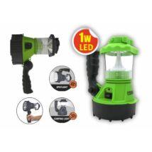 LED kézi fényvető lámpatest fogantyúval,autós akkumulátor töltő Újratölthető TRIXLINE 2 Év Garancia