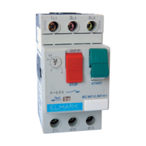 Elmark kézi működésű motorvédő kapcsoló TM2-E01 0,16-0,25A 48003