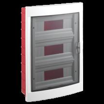 Lakáselosztó-elosztószekrény elosztó doboz 36 modulos süllyesztett VIKO