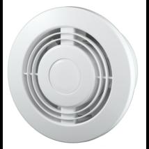Fürdőszoba elszívó axiális golyócsapágyas ventilátor KOMFORT 100T időkapcsolóval 19W 100m3/h 100mm