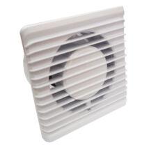 Fürdőszobai elszívó axiális ventilátor PE 100 S 100 mm csőbe oldalfalba mennyezetbe egyaránt
