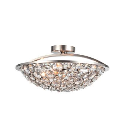 DJENY mennyezeti modern kristály lámpatest 3xE14 (ELM)