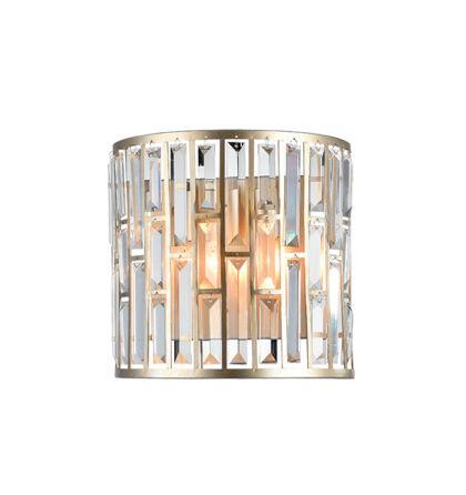JANET fali kristály lámpatest 2xE27 (ELM)