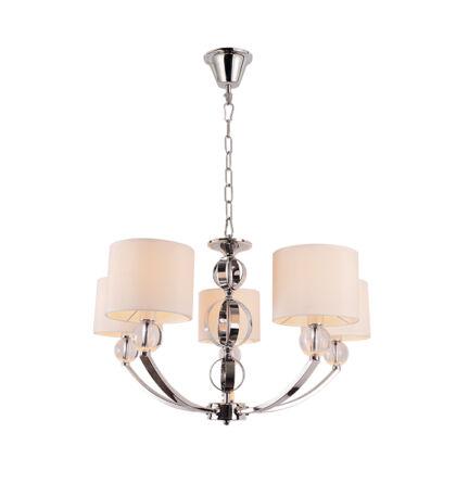 MAYA 5 ágú csillár lámpatest  5xE27 (ELM)