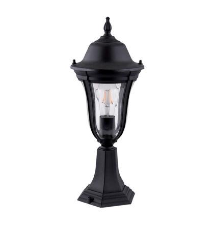 MARK kültéri lámpa állólámpa matt fekete 490mm (Elm)