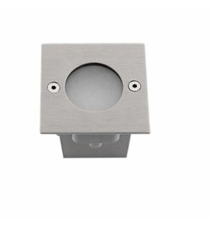 Elmark LED falba süllyeszthető lámpatest 1,2W 6000-6500K szatin nikkel IP54
