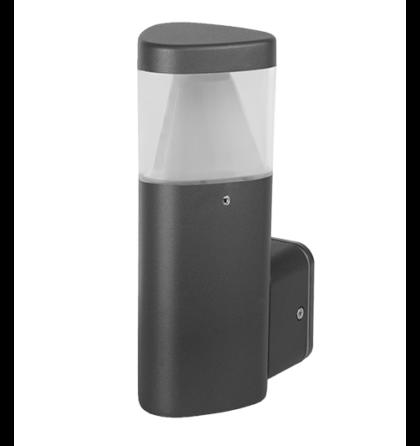 Osram Led 6W kültéri oldalfali Lámpatest IP65 199 mm LED  GRF967 Elmark