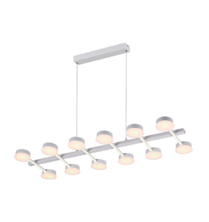 AZZAR LUXUS mennyezeti LED lámpatest 108W 8100 Lm 3000K meleg fehér 955AZZAR108