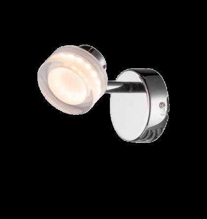 CAMEO LED desing fali spot lámpatest 5W/ 3200K 400lm 955CAMEO5W
