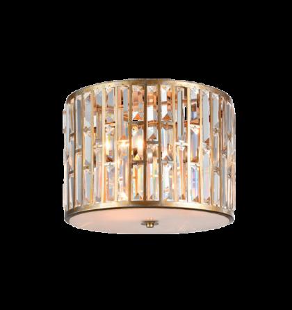 JANET mennyezeti modern kristály lámpatest 3xE27 D40 (ELM)