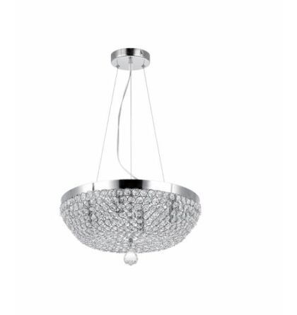 Nia kristály mennyezeti lámpatest 4xE14 D40 (Elm)