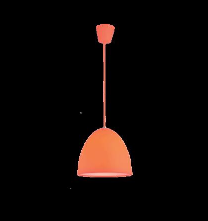 Joy színes mennyezeti narancs D25 E27 függeszték