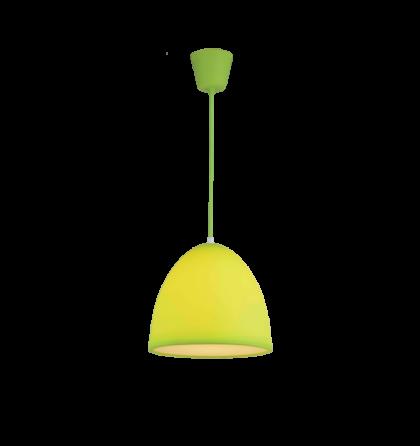 Joy színes mennyezeti zöld D25 E27 függeszték