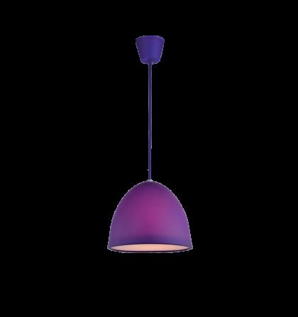 Joy színes mennyezeti lila D25 E27 függeszték