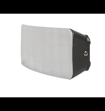 Kültéri LED 6W oldalfali lámpatest 4000-4300K szürke IP54 OL9613 Elmark