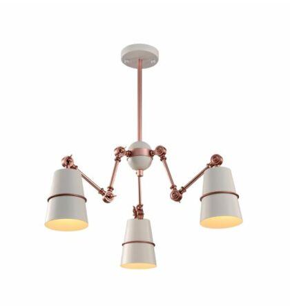 Spider design mennyezeti 3XE27 lámpatest (Elm)