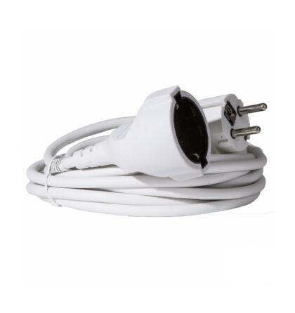 Somogyi fűnyíró hálózati lengő hosszabbító fehér színű 20m 2300W IP20 NV 2-20/W