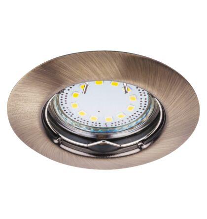 Lite LED 3XGU10 3W fix bronz beépíthető spot Rábalux 1048 (3db/szett)