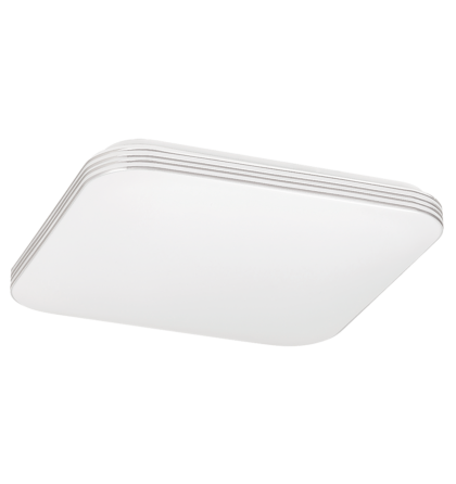 Oscar LED 18W 1350 Lm 4000K természetes fehér négyzet mennyezeti lámpatest ezüst Rábalux 2784