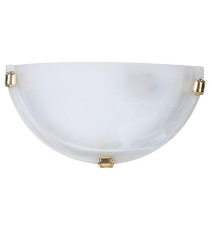 Alabastro fali lámpatest arany körömmel D30cm Rábalux 3001 + ajándék izzó