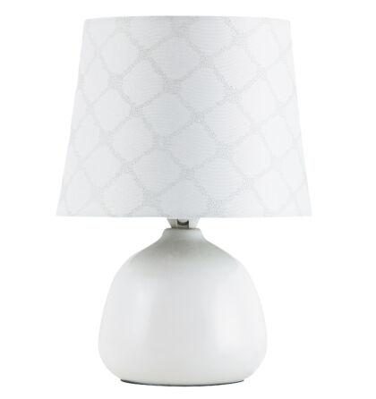 Ellie kerámia asztali E14 max 40W lámpatest Rábalux 4379+ ajándék LED izzó