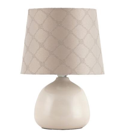 Ellie kerámia asztali E14 max 40W lámpatest Rábalux 4380+ ajándék LED izzó