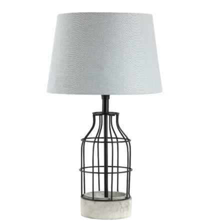 Ava vintage rusztikus asztali lámpatest E27 Rábalux 4385