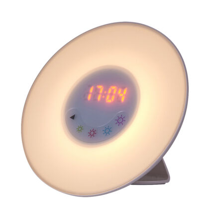 Penelope ébresztőóra + RGB LED  + rádió lámpatest Rábalux 4423