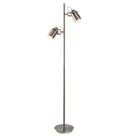 Peter antik bronz álló lámpatest 2x E27 Rábalux 5985