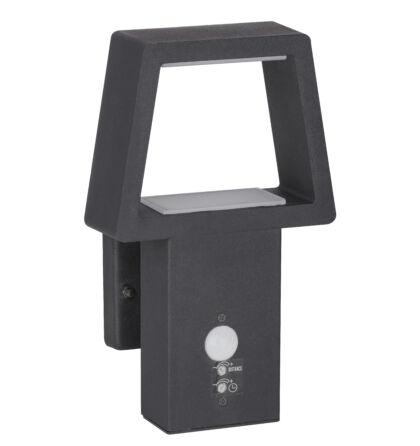 Arizona kültéri fali lámpa mozgásérzékelővel LED 10,5W meleg fehér IP44 Rábalux 8668