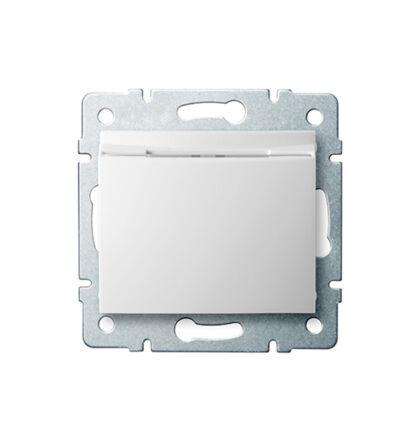 Kanlux DOMO hotelkártya kapcsoló keret nélkül fehér 24728
