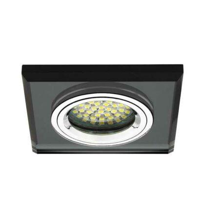 Kanlux MORTA CT-DSL50-B üveg mennyezeti spot lámpatest MR16 18510