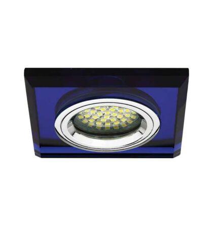 Kanlux MORTA CT-DSL50-BL  üveg mennyezeti spot lámpatest MR16 18511