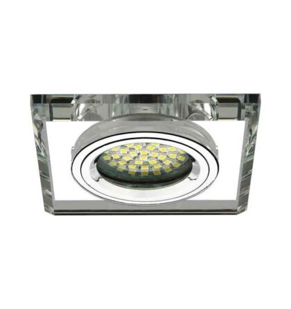 Kanlux MORTA CT-DSL50-SR  üveg mennyezeti spot lámpatest MR16 18512
