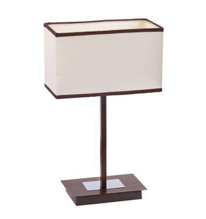Kubu wenge asztali lámpa Rábalux 2896