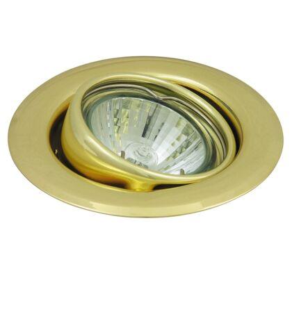 Spot light beépíthető spot lámpa 3-as szett arany billenthető kerek Rábalux 1122