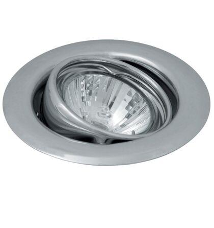 Spot light beépíthető spot lámpa 3-as szett króm billenthető GU10 foglalattal kerek Rábalux 1123
