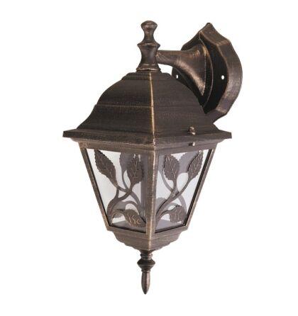 HAGA kültéri fali lámpatest E27 lefele Rábalux 8244