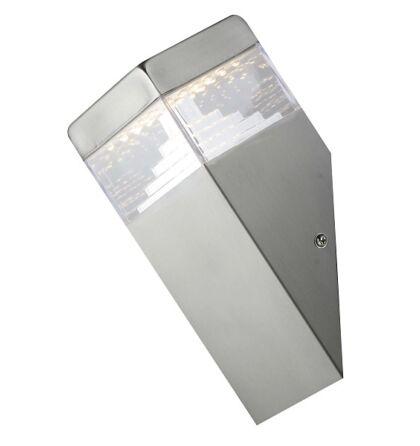 Genf LED 6,5W inox kültéri fali lámpa Rábalux 8249